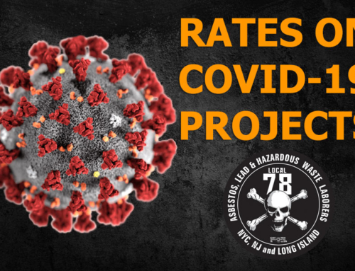 Important Message Addressing Rates on COVID-19 Projects