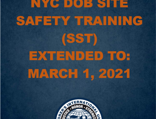 SST Training Deadline Extended to March 1, 2021