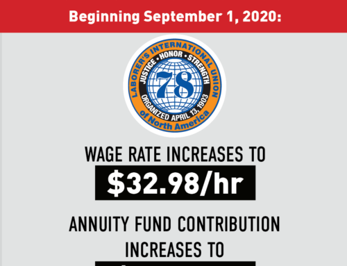 NJ Wage & Benefit Increase As Of September 1, 2020